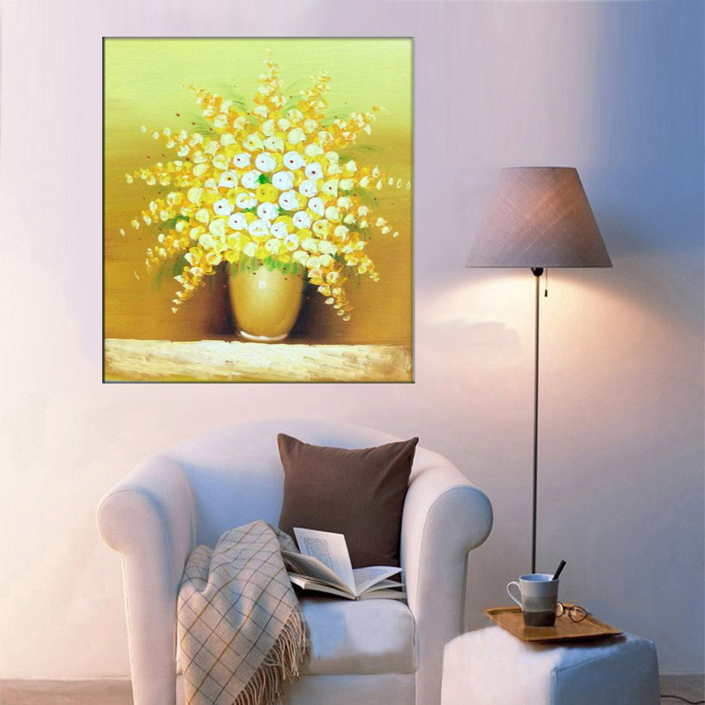 Contemporary Method Of Painting On Wall Illustration - Wall Art ...