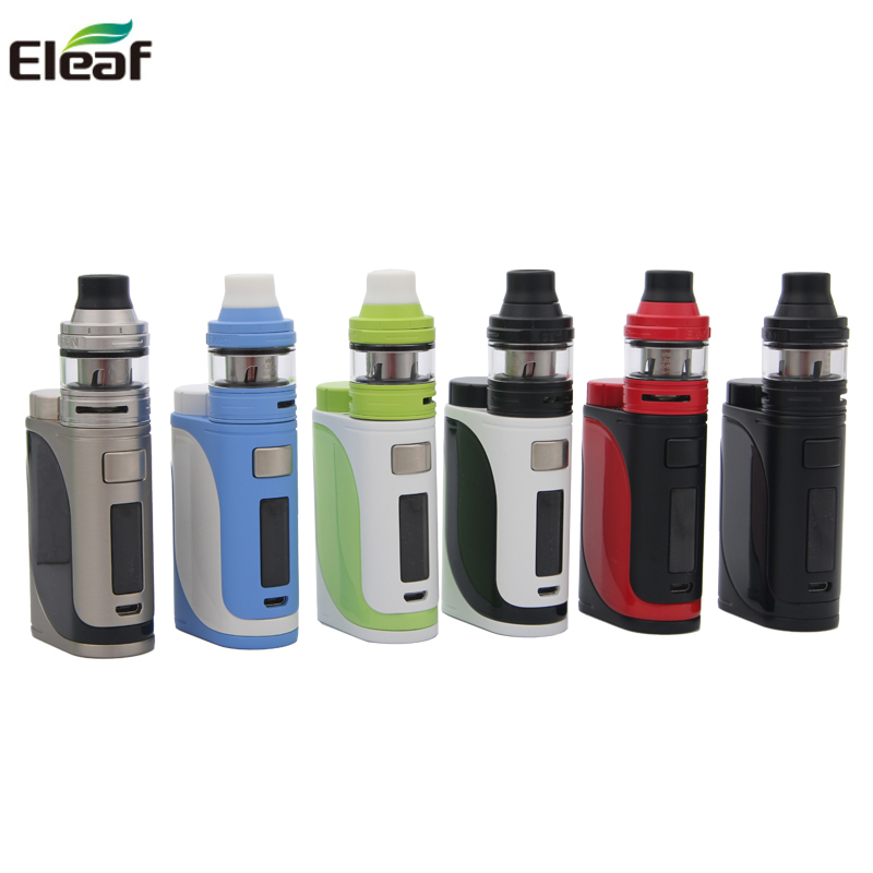 Kit d'origine Eleaf iStick Pico 25 iStick Pico 25 MOD Box 85 W avec réservoir ELLO 2 ML adapté aux bobines HW Kit de Vape de Cigarettes électroniques