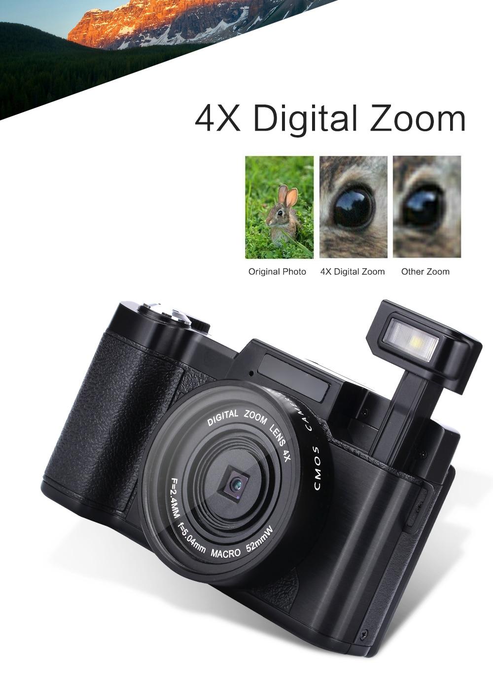 2017 Super 24Mp Max 8MP CMOS capteur 3 pouces écran Compact appareil Photo numérique professionnel appareil Photo 1080 P vidéo 800 mah batterie - 3