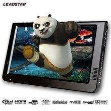 Leadstar 10 дюймов DVBT/DVBT2& аналоговый/ATSC мини Led HD Портативный Автомобильный цифровой телевизор Freeview все в 1 HDMI Поддержка USB SD карты