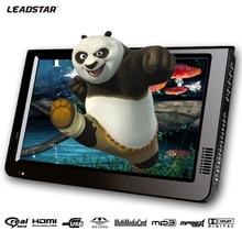 Leadstar, 10 Zoll DVBT/DVBT2 & Analog/ATSC Mini Led HD TV Alle In 1 HDMI IN AV Out Unterstützung USB SD Card