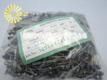 1000 шт. X 100% Новое Chengx 0.22 МКФ 50 В 5X11 Алюминиевый Электролитический Конденсатор Разъем