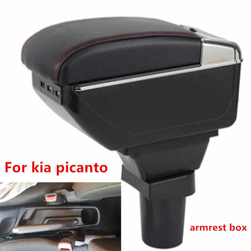 for Kia Picanto armrest box central Store content box products interior Armrest Storage car-styling accessories parts