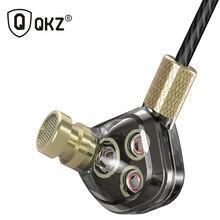 Qkz KD6 наушники 6 единиц балансными арматурными BA Драйверы-вкладыши Monitores Шум отмена настраиваемые наушники Fone де ouvido Auriculares