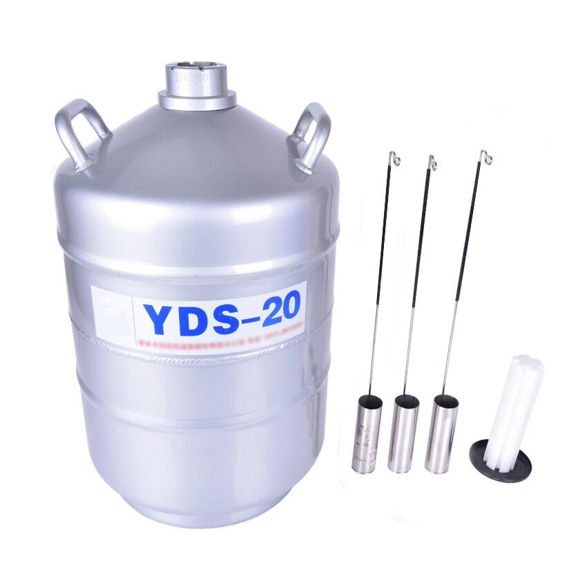 YDS-20 di azoto liquido per lattine per Azoto Liquido Serbatoio di Stoccaggio Contenitore di Azoto Criogenico Serbatoio Dewar con la Cinghia