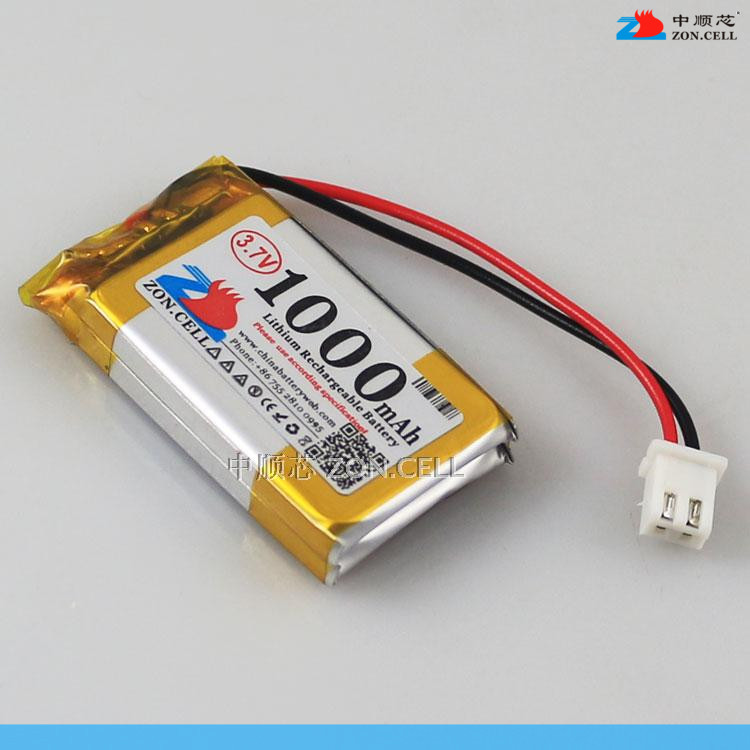 In 402540*2 3.7V 1000 Ma lithium polymer battery electronic dog story King learning machine Rechargeable Li-ion Cell