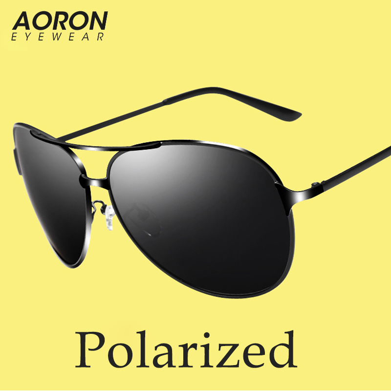 Classic Big Oversize Alloy Frame Aviation Sunglasses Men Polarized Glasses For Driving Lunette De Soleil Ray Eyewear Male 8009