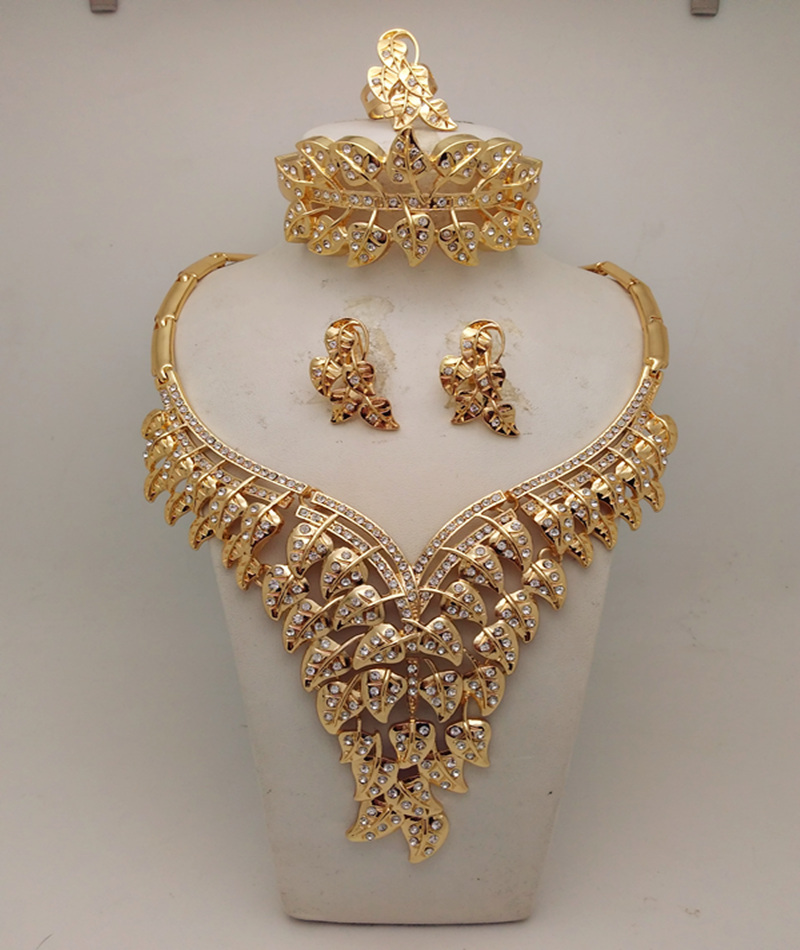 mukun bridal gift nigerian wedding african beads jewelry set fashion