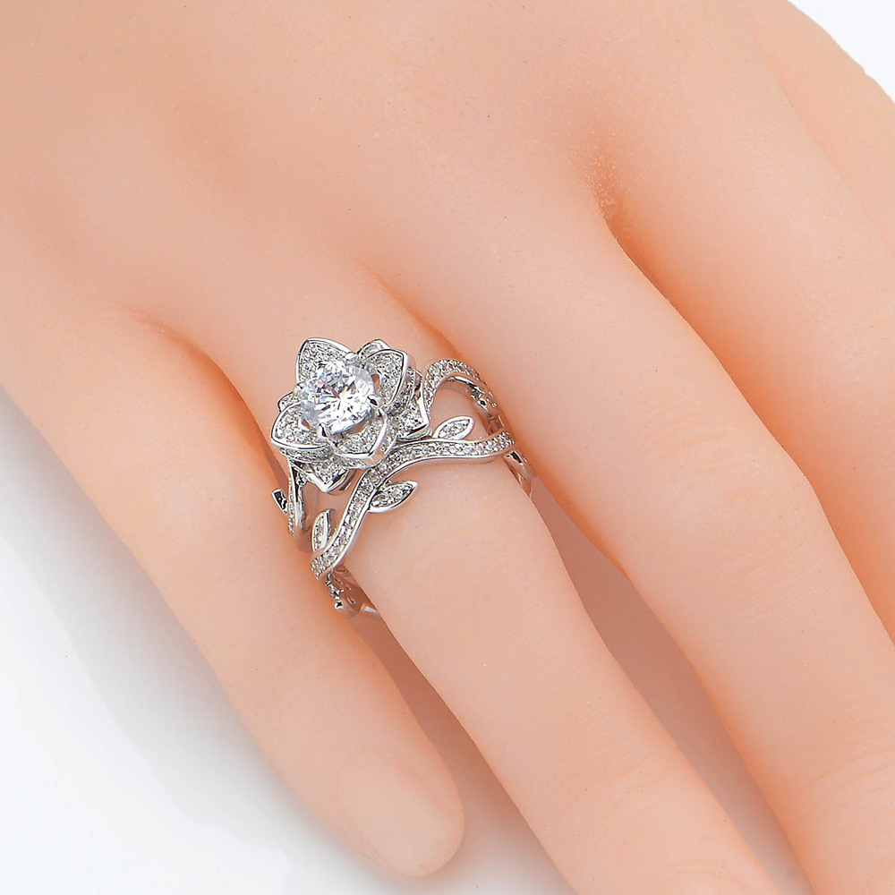 row jewelry purchase s this ring band cz bridal wedding gorgeous silver new double set rings engagement