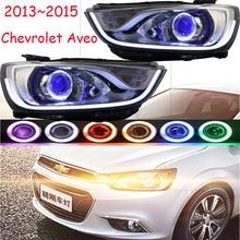 RHD LHD car styling for chevrolet Aveo Headlight 2013 2014 2015year DRL Bi Xenon Lens HI LO HID Fog Lamp Aveo Taillight