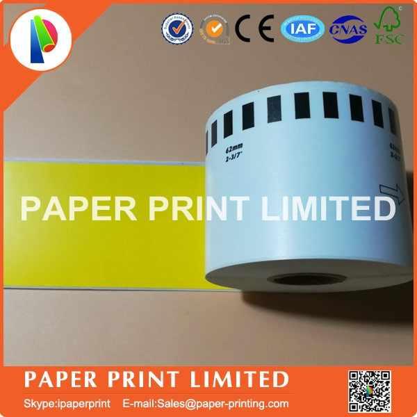 für BROTHER P-touch QL-700 QL-710 10x Label Rolle Etikett: 62mm x 29mm