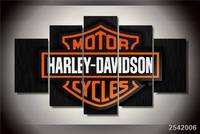 Hd Printed Motorcycle Logo Painting On Canvas Room Decoration Print Poster Picture Canvas Free Shipping Ny