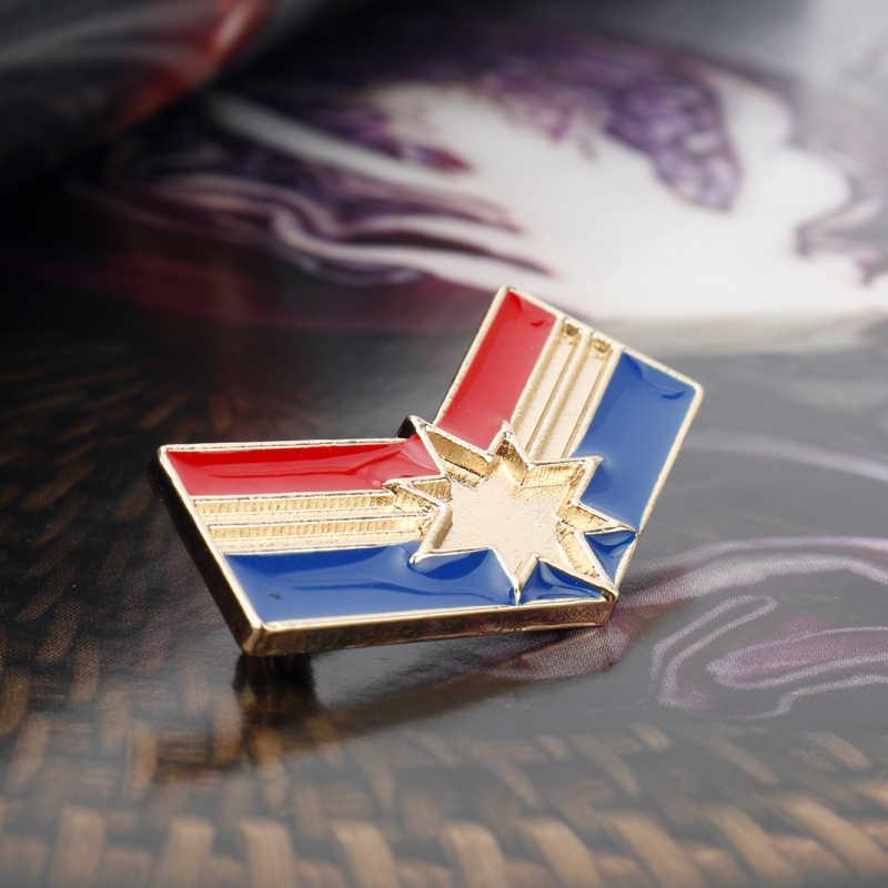المنتقمون خارقة كابتن كابتن الأمريكية ثانوس إنفينيتي غاونتل باتمان دبوس دبابيس شارة تأثيري مجوهرات هدية
