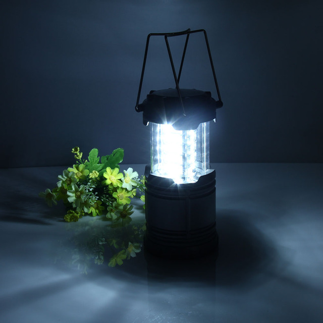 Portable Waterproof Camping Lantern Light 30 LED