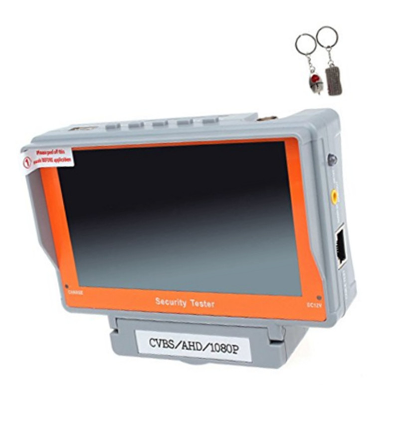 5 inch TFT Color LCD Monitor 1080P AHD Security CCTV Camera Portable Wrist CCTV Tester