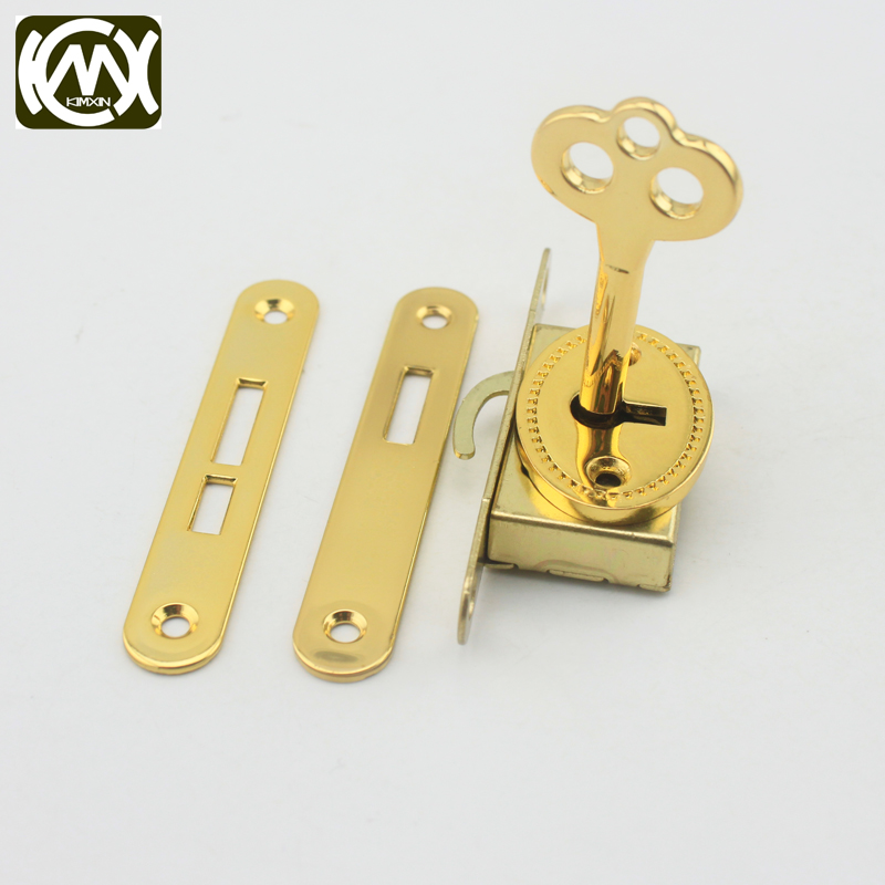 1pc In stock Five-piece set box lock,lock with key,jewelry/Wooden/Collection box lock,Manufacturer sales,Quality assurance W-018 ...