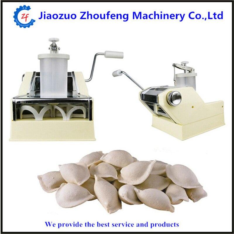 Small dumpling making machine household pelmeni machine  ZF manual pelmeni machine dumplings making machine mini hand press dough dumpling wrappers maker zf