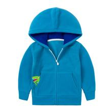 New Character Pocket 2-6Y Baby Boy Jacket Kids Fleece Full Sleeve Cardigan Boys Kids Children Clothing Outwear KW-1637