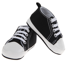 Baby Sports Shoes Baby Girl Boy White and Black Shoes Prewalk Sports Shoes Sneakers Sapatos Baby Infant First Walkers