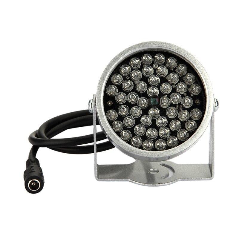 2 шт. 48 <font><b>LED</b></font> свет видеонаблюдения ИК инфракрасного Ночное видение лампа для безопасности Камера