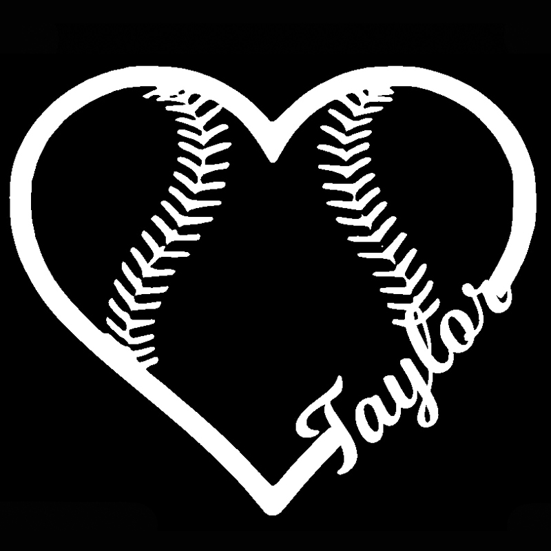 Online Get Cheap Softball Car Stickers Aliexpresscom Alibaba Group - Custom car decals online   how to personalize