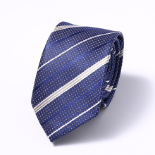 New Casual Slim Striped Ties For Men Classic Polyester Silk Neckties Fashion Man Tie for Wedding Party Male tie Neckwear new men s business casual professional tie polyester silk striped male tie team manufacturers wholesale spot