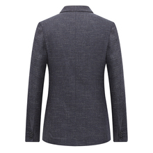 Quality 2018 Spring New Blazer Men Fashion Two Buttons Casual Slim Fit Jackets Men Plus Size Long Sleeve Business Mens Blazer