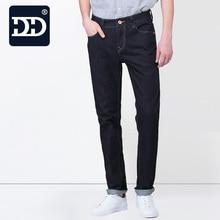 Dingdi Jeans  washed Men Brand Jeans Fashion jeans Men Famous Men Slim Straight High Waist Men Brand Jeans Pants high quality