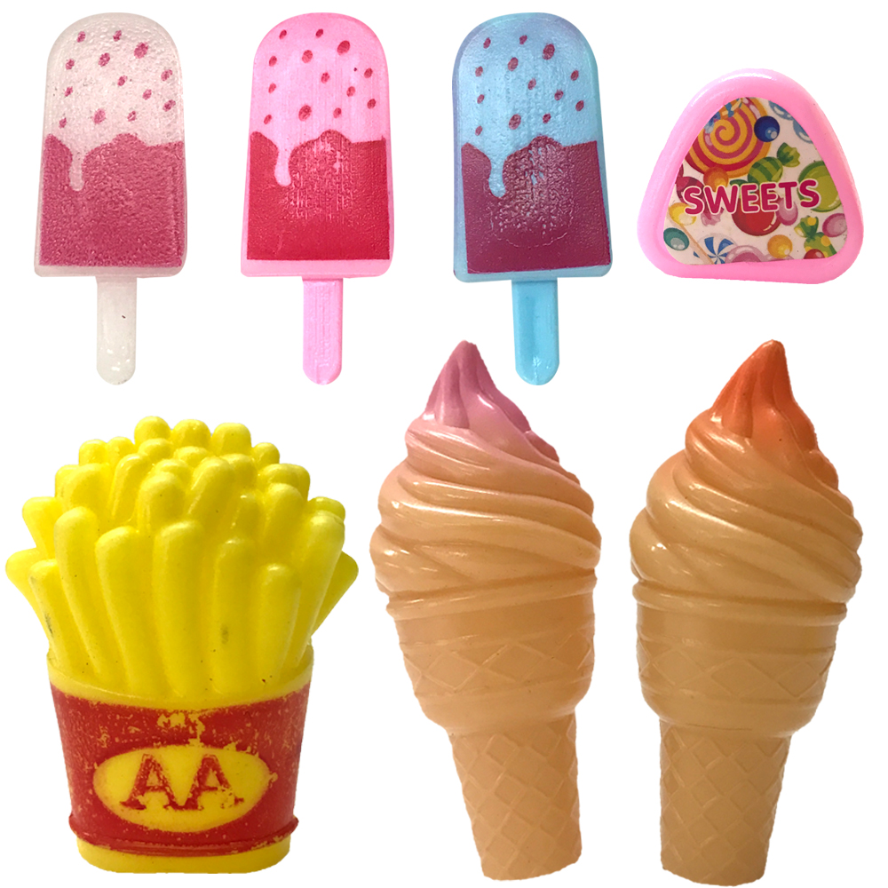 FASHION DOLL MINIATURE RE-MENT 1//6 SCALE RETIRED PACKAGE POPSICLE FOOD ACCESSORY