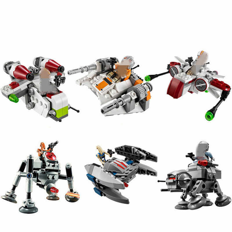 Detail Feedback Questions About 6pcsset Star Wars Microfighters Arc