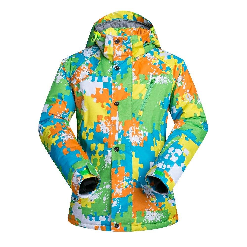 Haute qualité hommes Ski vestes Camouflage imperméable respirant vêtements manteau thermique mâle escalade Snowboard neige veste marques