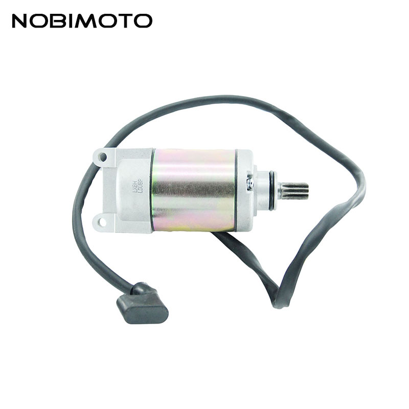 10 Teeth Motorcycle Starting Motor Motorcycle Starter Fit For Loncin CB250cc Water Cooled Engines ATV Motorcycle