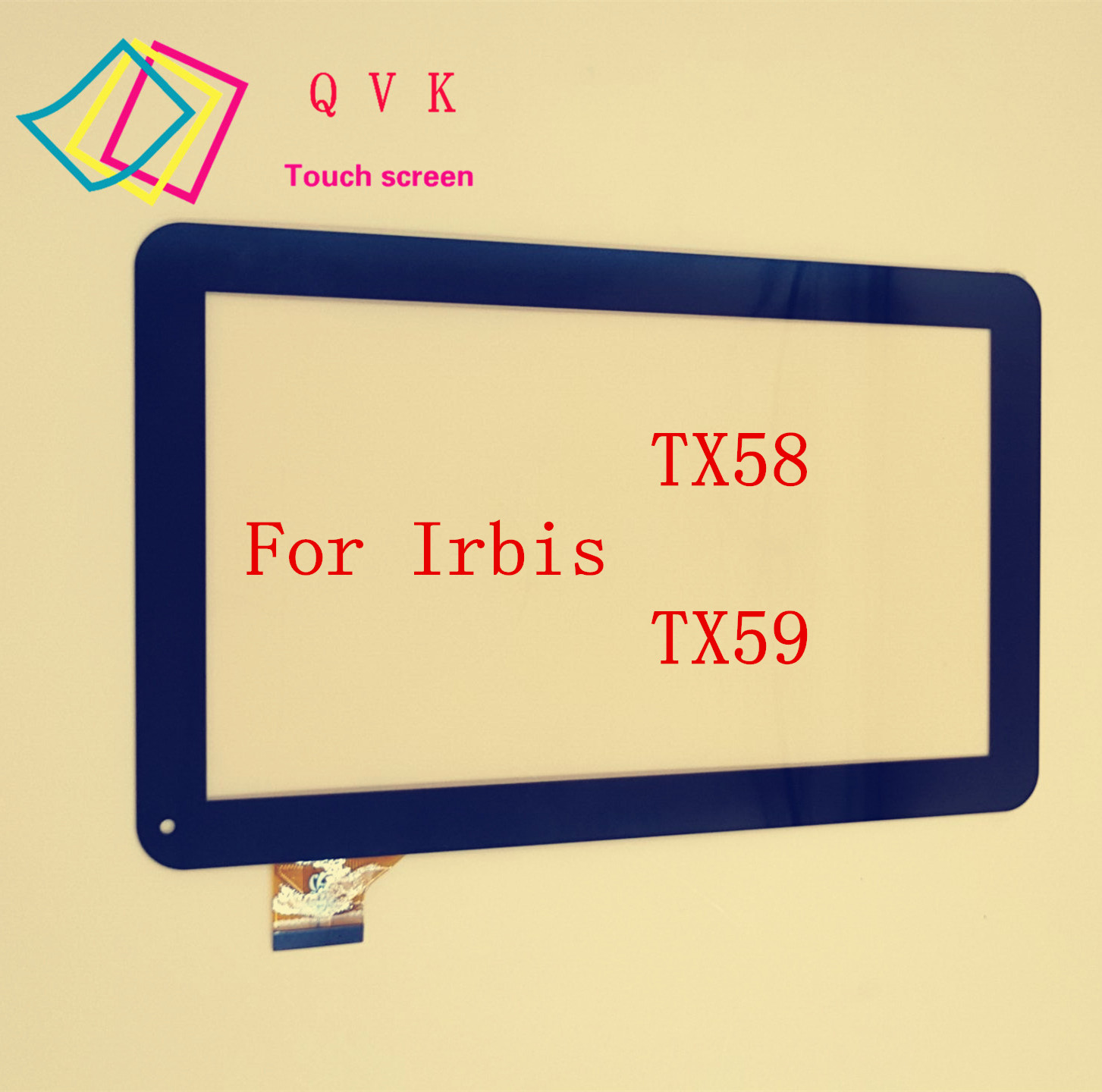 10.1 inch for Irbis TX58 TX59 tablet pc external capacitive touch screen capacitance panel black new 8 tablet pc yj314fpc v0 fhx authentic touch screen handwriting screen multi point capacitive screen external screen