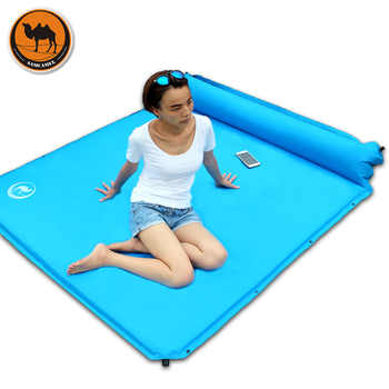 CS-033-3 broadened 160cm automatic inflatable mattress outdoor cushion 190 * 160 * 3.5cm large spack camping mat for 2persons