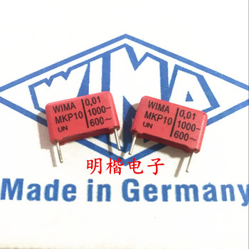 2019 hot sale 10pcs/20pcs Germany WIMA capacitor MKP10 1000V 0.01UF 103 1000V 10nf P: 15mm Audio capacitor free shipping 2019 hot sale 10pcs 20pcs germany wima mkp10 1000v 0 0033uf 3300pf 1000v 332 p 10mm audio capacitor free shipping