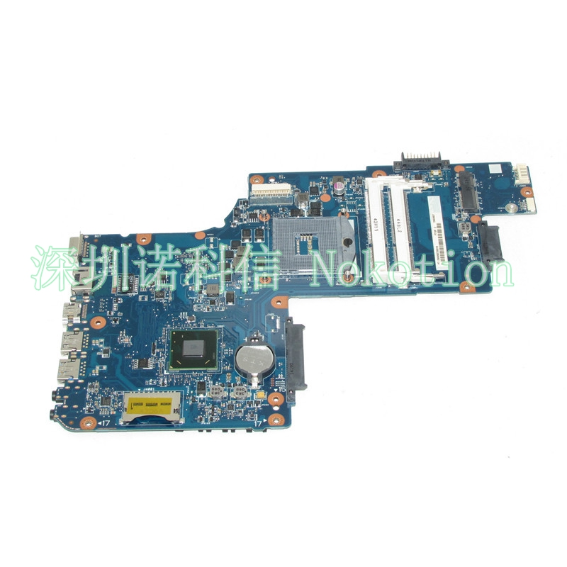 цена NOKOTION laptop motherboard for Toshiba Satellite C50 C50D H000061920 PGA989 HM70 DDR3 Mainboard
