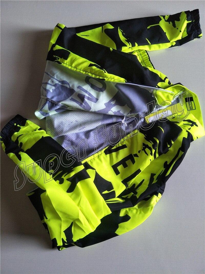 Coupe-vent maillots vent manteau Fluorescent cyclisme maillots coupe-vent veste Sunshield vélo Sportswear livraison gratuite FWL1 - 3