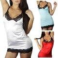 НОВЫЙ Glossyc Ночная Рубашка Sleepdress Sexycwith Кружево Искушение
