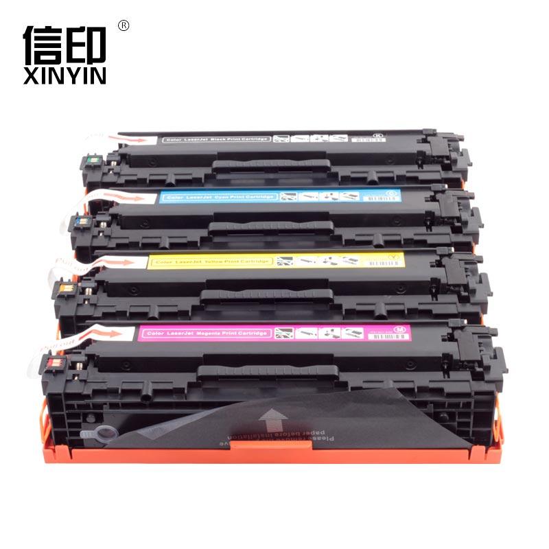 A Set Original 4 Color Toner Cartridge CRG 416 For Canon LBP5050CN MF8030CN MF8040CN MF8050CN MF8010CN MF8080CW MF808 original new for canon ir advance c2020 2225 waste toner box