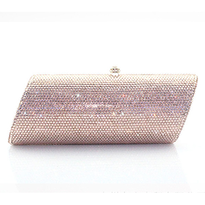 XIYUAN Fashion Designer Party Purse Luxury Crystal Diamond Deluxe banquet Evening Bag bridesmaid packet Wedding Prom Clutch Bag