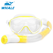 купить NEW Diving Mask Underwater Scuba Anti Fog Snorkeling Mask Snorkel Set Silicone Tube Snorkel Mask Swimming Training Diving Mask дешево