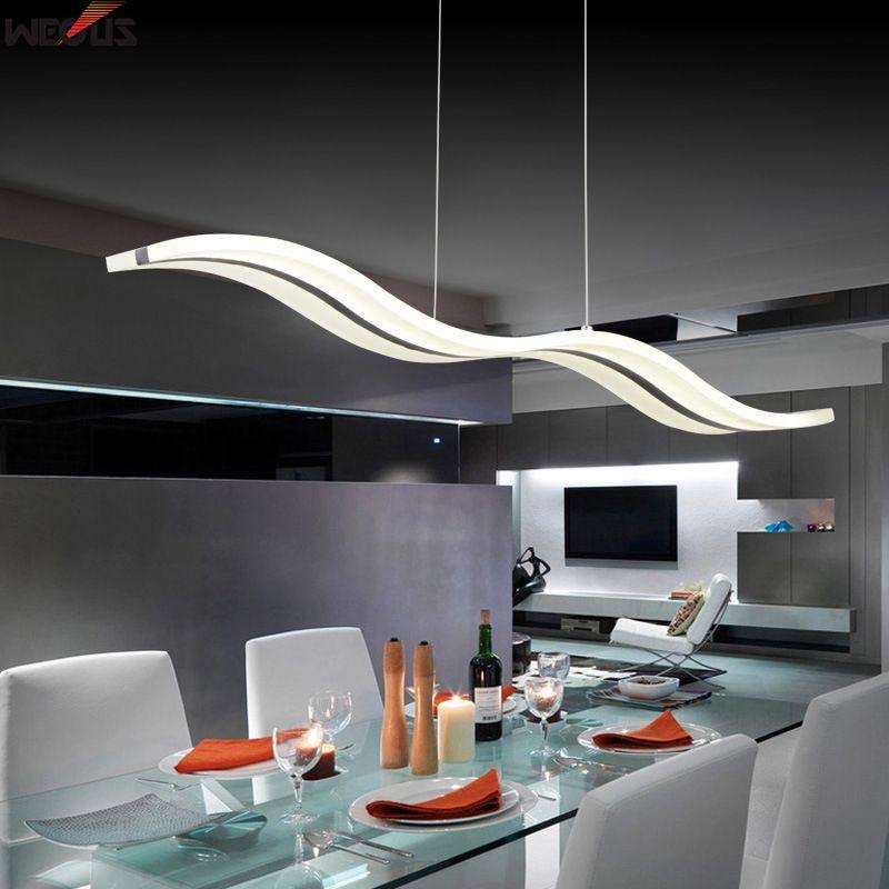 38W modern pendant lights for dinning room livingroom restaurant kitchen lights AC85 265V luminaire suspendu pendant lamps