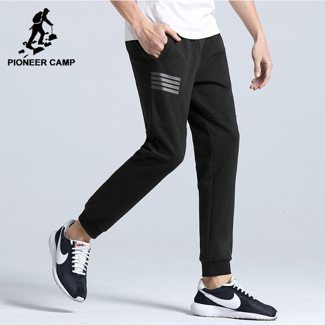 d8362b439 Corredores de Acampamento pioneiro nova chegada roupas masculinas da marca  de moda simples AWK702166 sweat pants