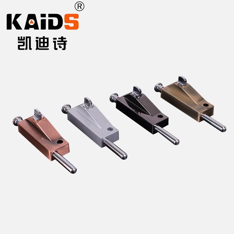 KAIDS Zinc alloy door latch bolt Door hardware/bolt/latch Durable Gloss Door Lock Bolts Multicolor Optional Wire drawing process