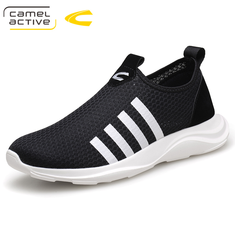 Camel Active New Breathable Mesh Summer Men Casual Shoes Slip-On Male Fashion Footwear Slipon Walking Unisex Couples Shoes Mens chilenxas 2017 summer new fashion air mesh shoes men casual footwear breathable slip on light loafers round toe sweat absorbant