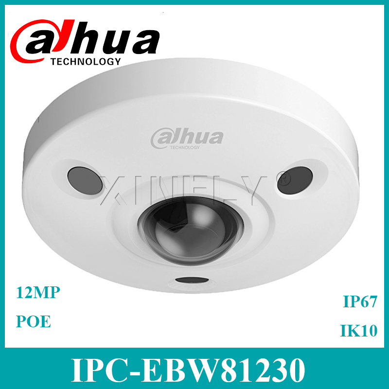 <font><b>Dahua</b></font> IPC-EBW81230 Original <font><b>12MP</b></font> Fisheye <font><b>IP</b></font> <font><b>Camera</b></font> Panoramic Network <font><b>Camera</b></font> Replace IPC-EB5531 With <font><b>Dahua</b></font> LOGO image