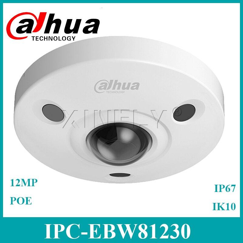 Dahua IPC EBW81230 Originele 12MP Fisheye IP Camera Panoramisch Netwerk Camera Vervangen IPC EB5531 Met Dahua LOGO