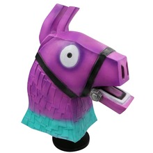 Battle Royale Troll Stash Llama Mask Cosplay Halloween Masks Game Latex Full Face Helmet Props