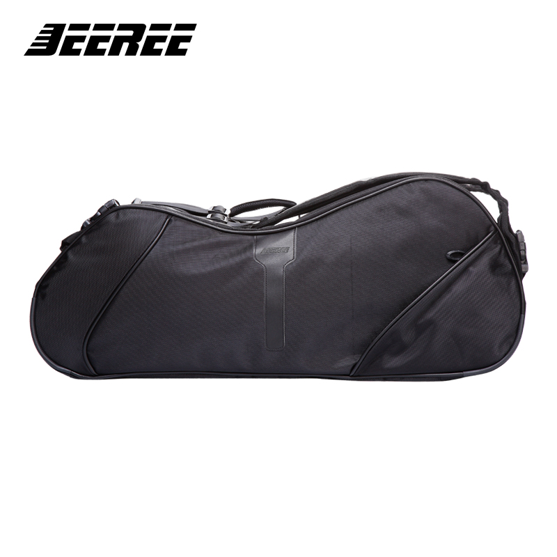 Big Racquet Sports Bag Badminton Bag Crossbow Waterproof Multi-layer Placement Tennis Racket Dacron backpack shoes Bag