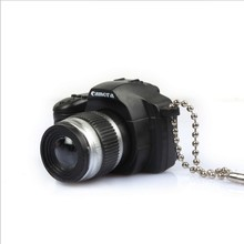 Fashion Simulation SLR Camera Key Rings Trinket LED Light Voice Keychain Toys Key Holder Key Chains